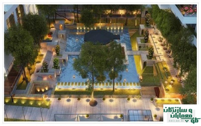 پروژه باغ ایرانی لوتوس